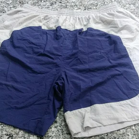 blue adidas swim shorts